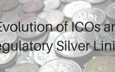 The Evolution of ICOs and the Regulatory Silver Lining