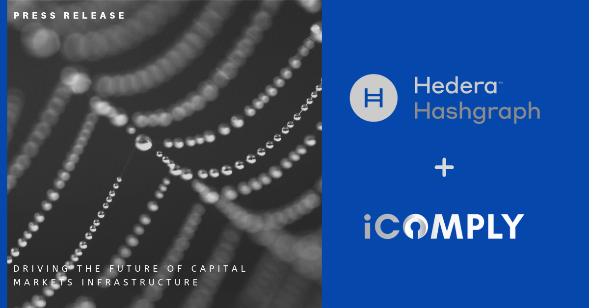 iComply to Power Global Compliance for Digital Assets on Hedera