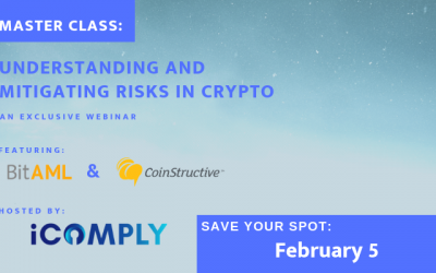 iComply MasterClass: Understanding and Mitigating Risks in Crypto