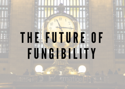 The Future of Fungibility
