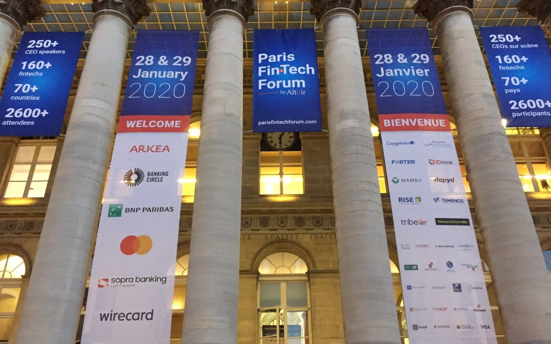Paris FinTech Forum 2020: Highlights and Takeaways