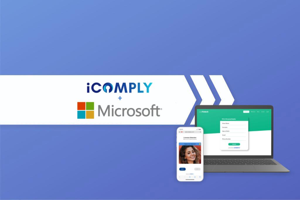 Microsoft partners with top KYC AML software, iComply
