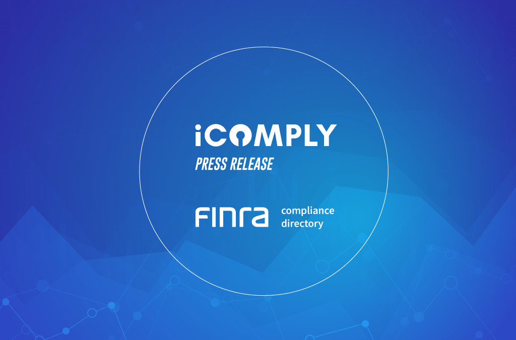 iComply Now Listed in the FINRA Compliance Vendor Directory